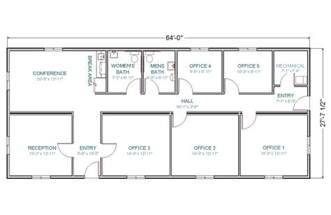 small office floor plan sles