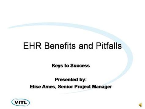 Ehr Benefits And Pitfalls To Avoid Authorstream Ehr Powerpoint Templates
