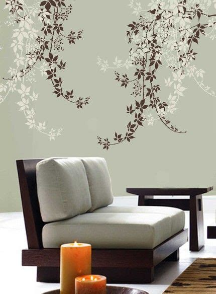 184 Best Decals And Stencils For Walls And Furniture Images On Pinterest Bedroom Ideas Wall Mural Templates