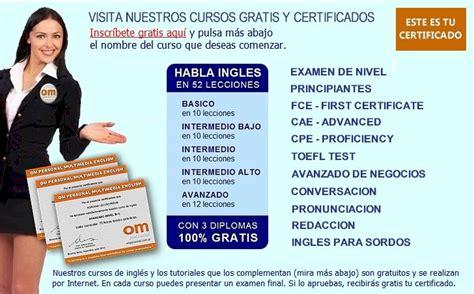 Cursos De Ingles Gratis Certificado Om Personal Aprender Ingles   cursos de ingles gratis certificado om personal aprender