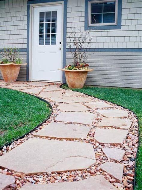 easy  cheap walkway ideas   garden pool