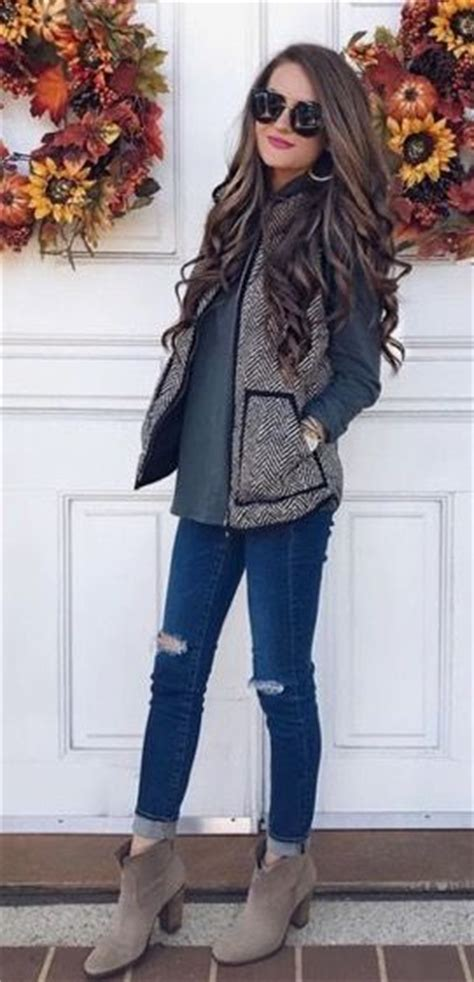 outift for summer fall winter 1000 ideas about fall on sleeveless cardigan vests and wardrobe