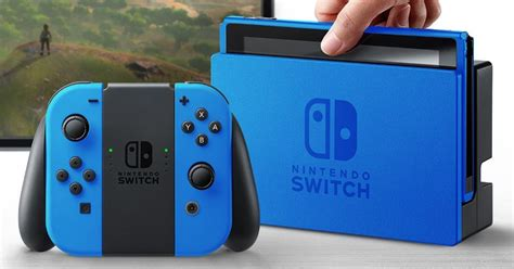 Nintendo Switch nintendo switch in color look at the possibilities