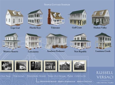 Simple Cottage House Plans by Russell Versaci S Simple Cottage Plans