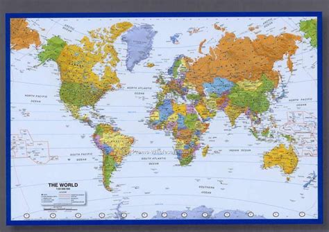 map of poster 36 quot x24 quot world map poster with americas centered wholesale