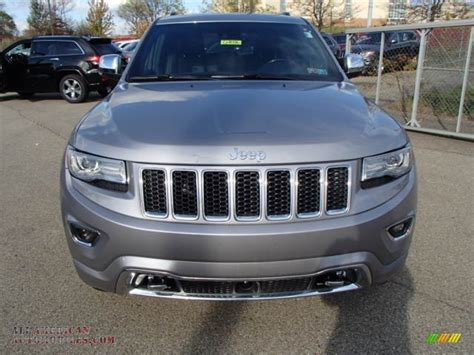 silver jeep grand cherokee 2014 jeep grand cherokee overland 4x4 in billet silver