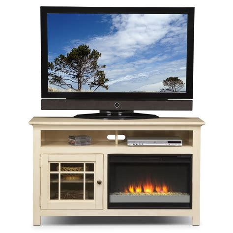tv cabinet with fireplace merrick 54 quot fireplace tv stand with contemporary insert