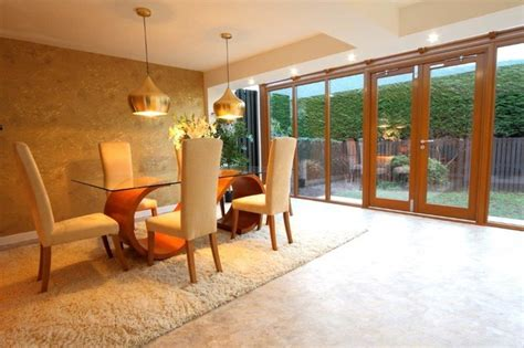 Small Dining Room Extension Small Conservatory Extension Contemporary Dining Room