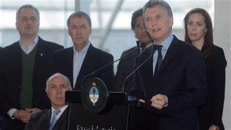 macri present un plan para modernizar el estado macri present 243 su plan contra el narcotr 225 fico noticias
