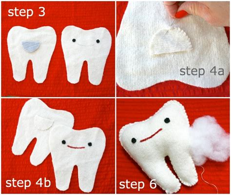 How To Make Tooth Pillow by How To Tooth Pillow Poppet Makes