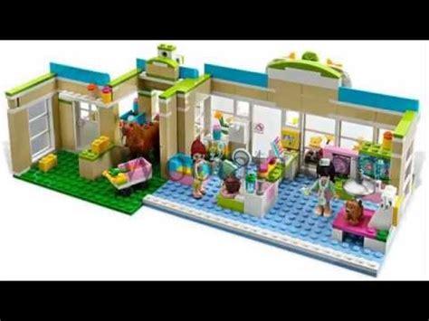 Lego Friends Mainan Lego Anak Anak Murah mainan anak bongkar pasang block bela friends 10169 heartlake vet