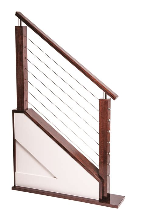 cable banister cable railing systems for stairs balconies