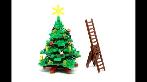 how to stop my live christmas tree from lening how to decorate your lego tree stop motion