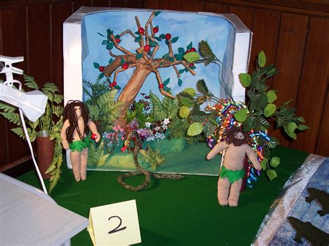 garden of craft the knitted bible st georges urc hartlepool