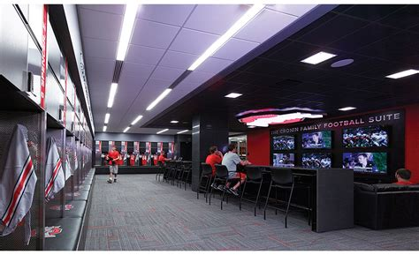ohio state football locker room ohio state locker room gets quartz design 2015 07 06 world