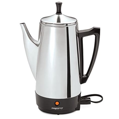 Presto 174 02811 Coffeemaker | presto 02811 12 cup stainless steel coffee maker