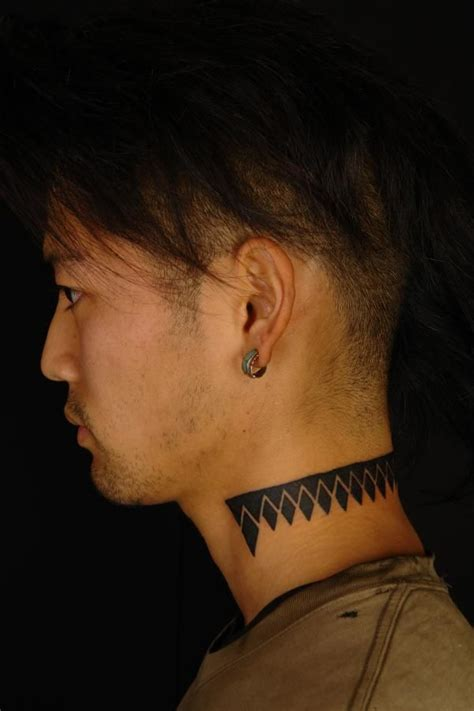 tattoo on the neck for guys 143 best minimalist geometric tattoo images on pinterest