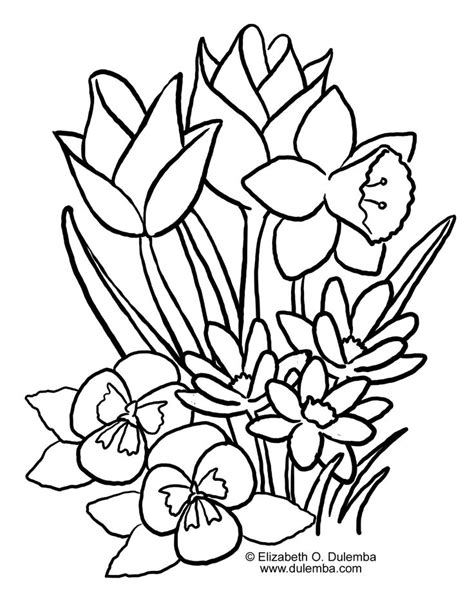 flower coloring pages color flowers online page 1 spring coloring pages best picture flowers on printable