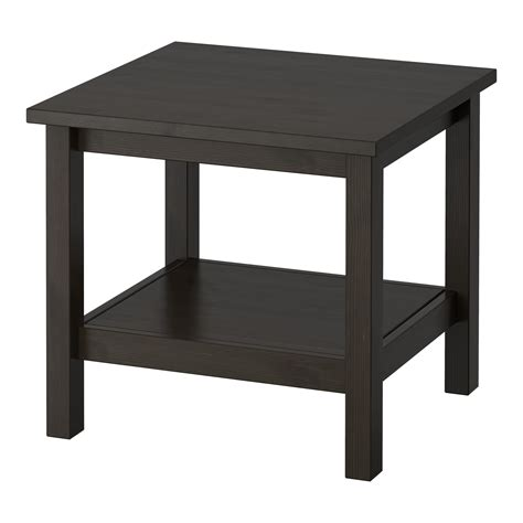 ikea side tables hemnes side table black brown 55x55 cm ikea
