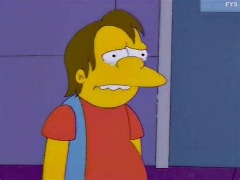 imagenes sad simpsons nelson muntz on tumblr