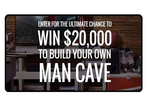 Sweepstakes Expiring Soon - expiring soon win a 20 000 man cave makeover blissxo com