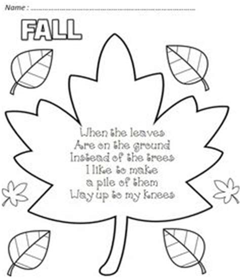 poems for kindergarteners on pinterest | poems, poetry and