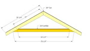 marvelous shed roof plans 8 shed roof truss plans