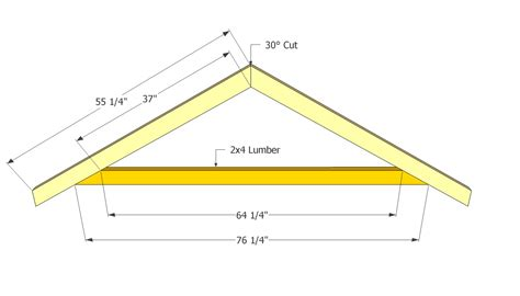 How To Make Trusses For Shed by Marvelous Shed Roof Plans 8 Shed Roof Truss Plans