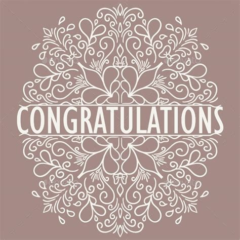 wedding congrats card template 11 congratulations card templates pdf psd eps free