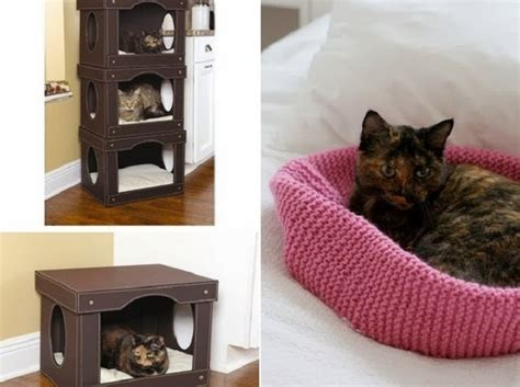 unique cat furniture cute and unique beds for your cat our daily ideas