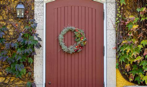 fall wreaths  front door diy fall outdoor
