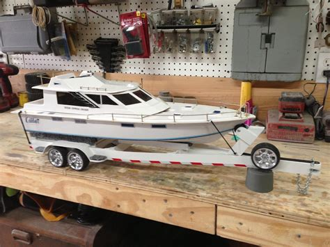 rc gas boat pics rc truck and boat trailer review of rc4wd s big dog 1 10