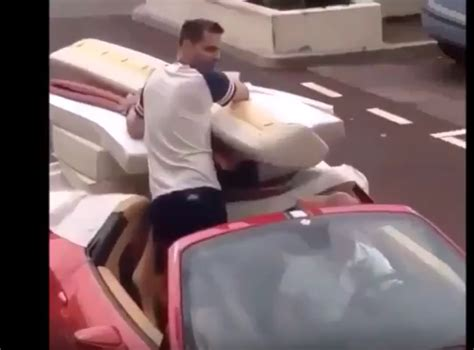 moving a couch moving a couch with a ferrari 458 spider video dpccars