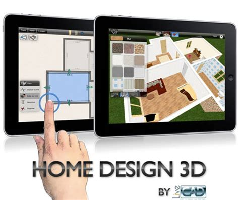 home design 3d cad for the pad video touchmyapps