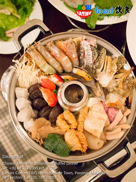 steamboat chinese chinese new year steamboat buffet dinner e o hotel now