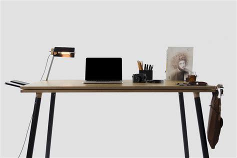 design milk desk tenderete a desk connected without nails design milk