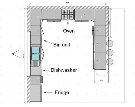 floor plan for kitchen best 25 commercial kitchen design ideas on