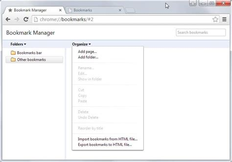 chrome bookmark how to transfer browser bookmarks without sync account