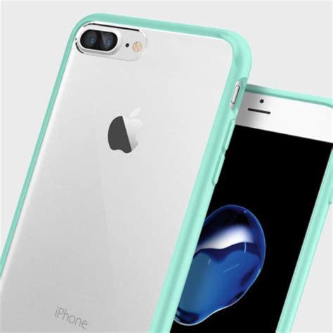 spigen ultra hybrid iphone   bumper case mint green