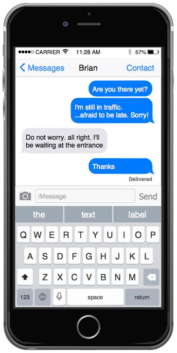 change layout messages iphone conceptdraw sles software development iphone user