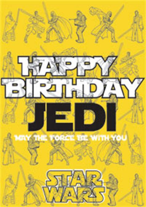printable birthday cards star wars star wars birthday cards jedi