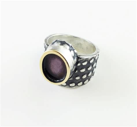 sterling silver ring agate collection