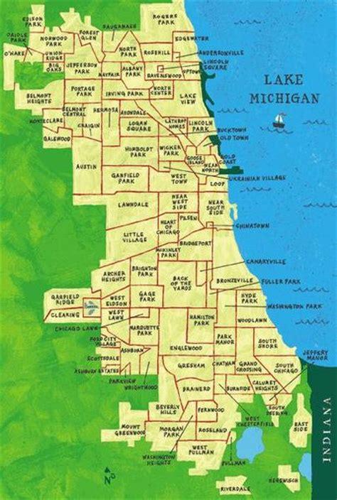 chicago map neighborhood chicago neighborhood map moving to chicago