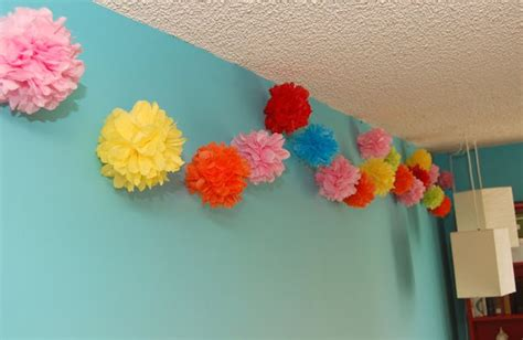 Handmade Tissue Paper Flowers - sewsweetstitches handmade tissue paper flowers and pompom
