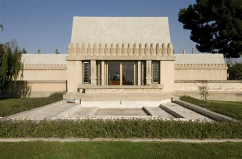 Hollyhock House by The Agenda Ojai S In The Field Hollyhock House And