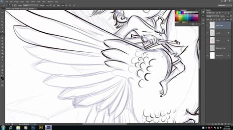 Sketches To Trace by Photoshop How To Trace Original Sketch