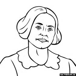 Susan B Anthony Coloring Page coloring pages starting with the letter s page 11