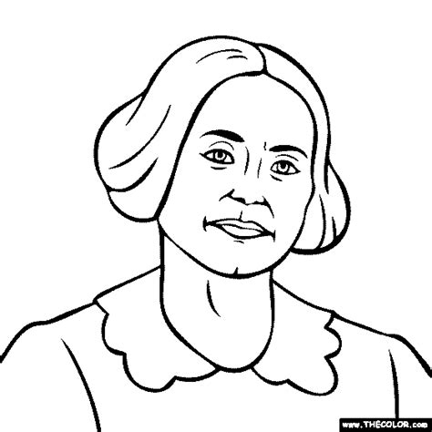 famous historical figure coloring pages page 2