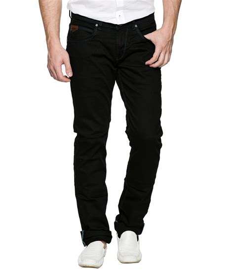 spykar black fit buy spykar black