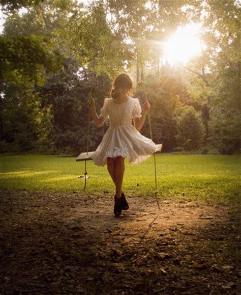 girl swings dress girl nature pretty swing image 215452 on